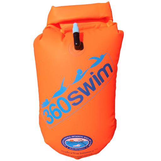 triatletas ESONE Kayakers y snorkelers Seguro Nataci/ón Nataci/ón boya de Seguridad y Bolsa Seca//Temporada para Abierto Agua Nadadores