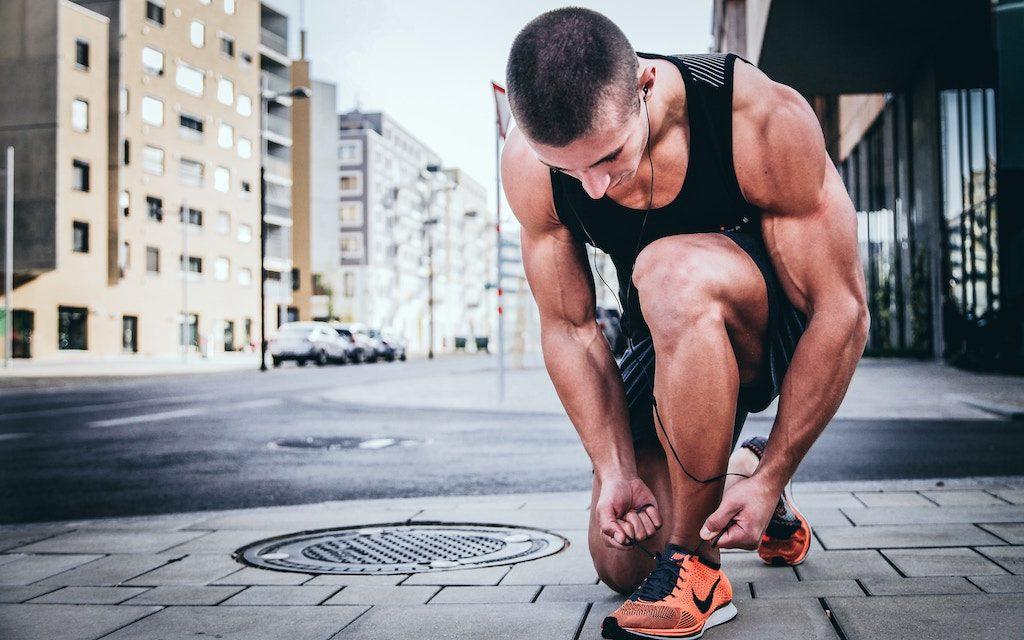 Calentamiento para correr en triatlón 1
