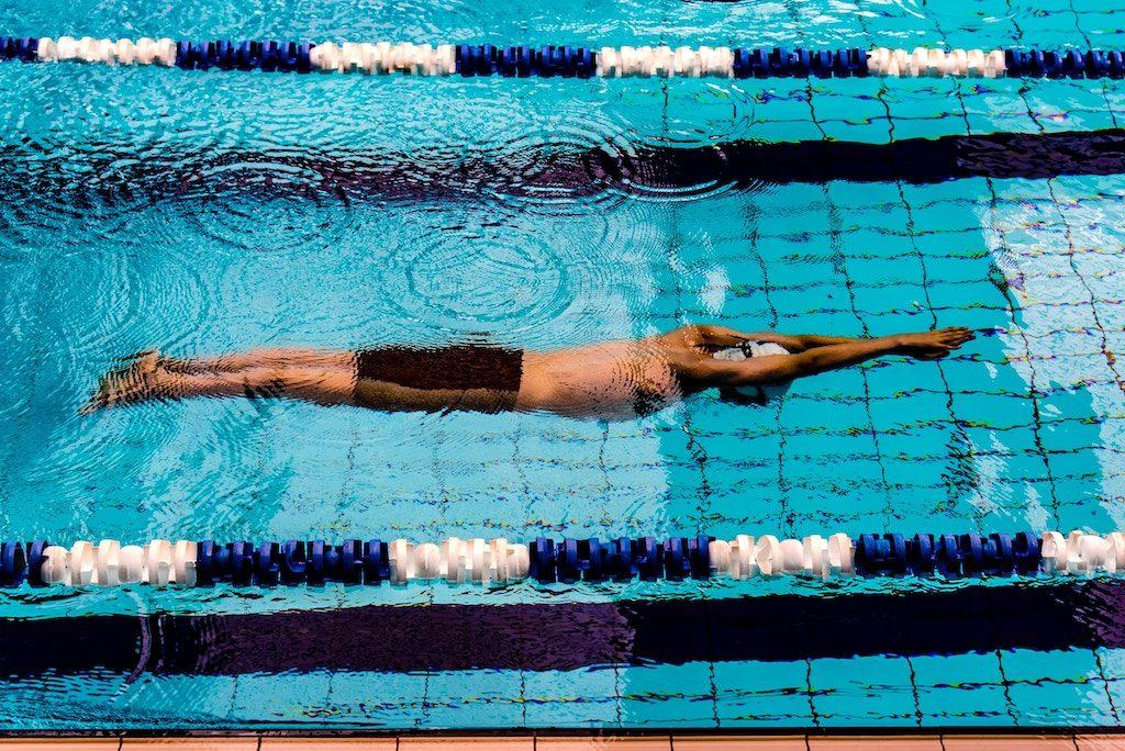 calentamiento natacion